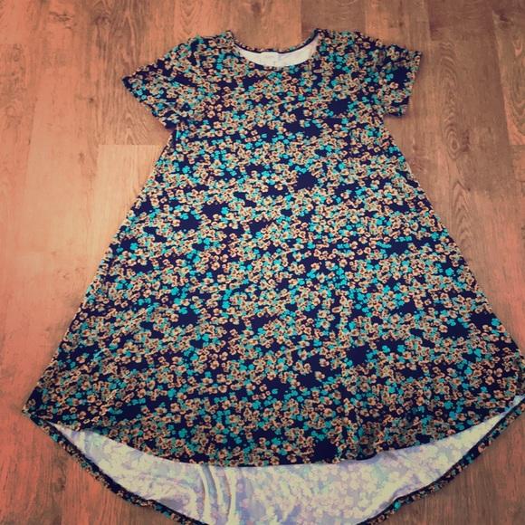 LuLaRoe Dresses & Skirts - Lularoe Carly dress. Size large